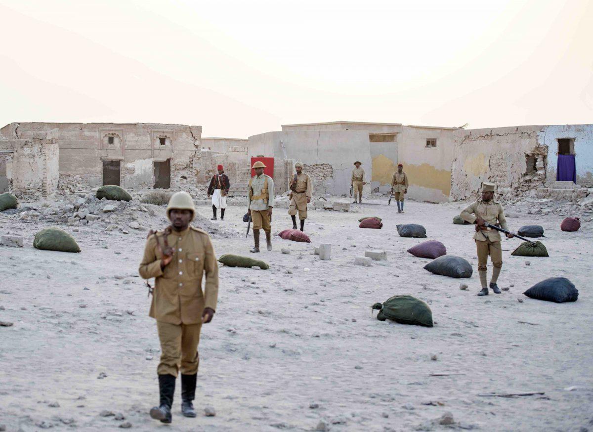 John Akomfrah, Mimesis: African Soldier, 2018