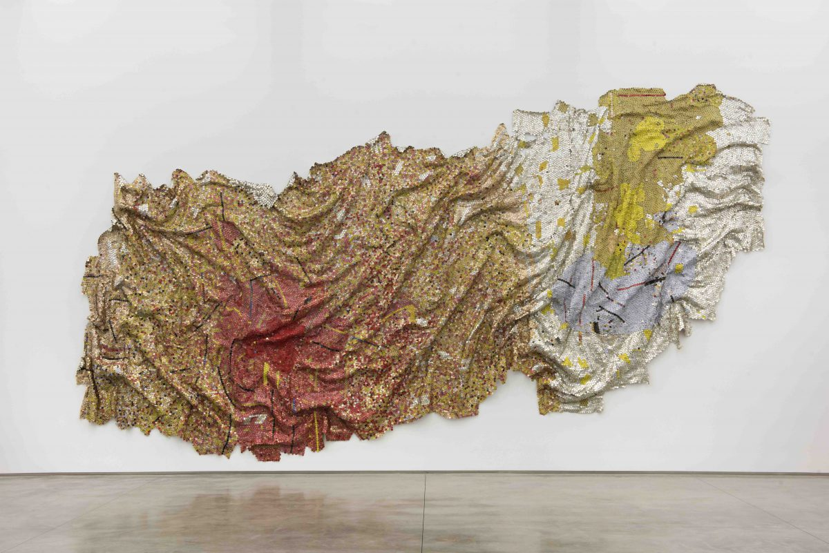 El Anatsui, Gravity and Grace, 2010
