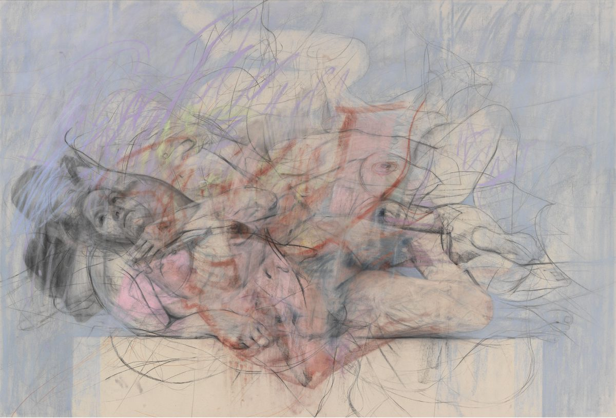 Jenny Saville, Out of One, Two (Symposium), 2016