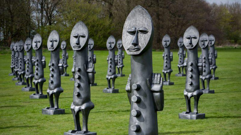 Zak Ové: Yorkshire Sculpture Park, UK.